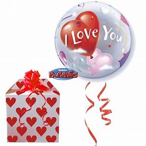 i love you bubble balloon amazingballoonscouk With i love you letter balloons