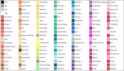 Crayon Colors Crayons Purple Simplified Mountain Plot