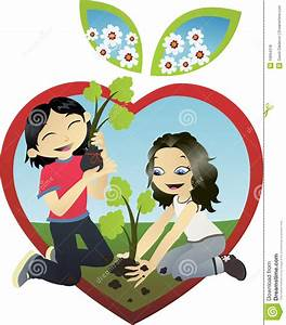 Lets Plant A Tree Royalty Free Stock Photos - Image: 10694318