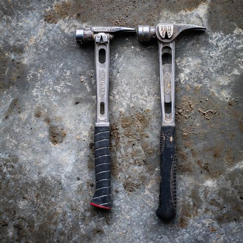 field tested  martinez  titanium handled hammers