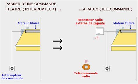 moteur de store banne filaire ou radio avec t 233 l 233 commande ou manivelle