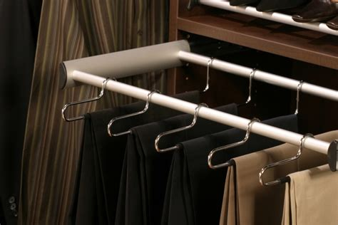 pull out pant rack california closets for the home
