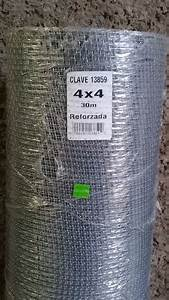 Malla Criba Ferretera Reforzada 4x4 Rollo 30 Metros