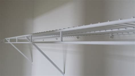 wire closet shelving effortless installation wall mounted wire shelving home