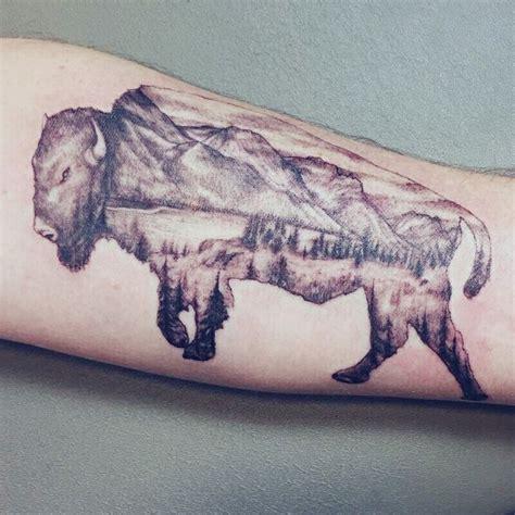 Best 25+ Bison Tattoo Ideas On Pinterest  Buffalo Tattoo
