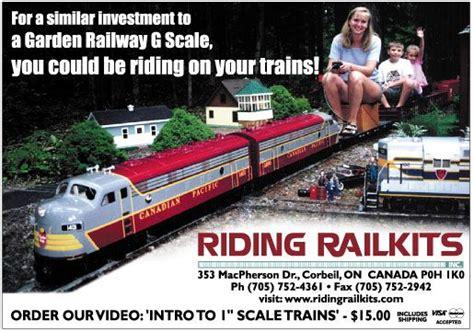 Ride On Backyard Trains by Ride On Garden Railroads Rideable Trains Garden Model
