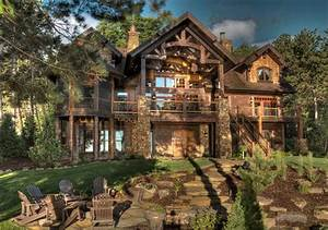 Luxurious, Country, House, With, Rustic, Awe, U2013, Homesfeed