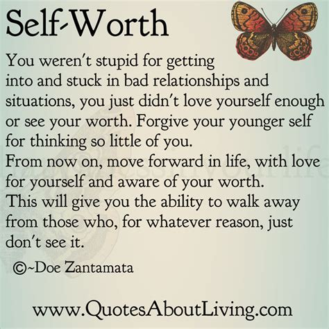 Quotes About Self Worth Self Worth Quotes For Quotesgram