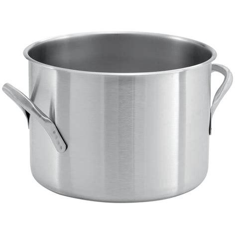 vollrath 78560 classic 7 1 2 qt stainless steel stock pot boiler pot