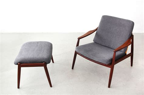 easy chairs with ottomans galerie bachmann easy chair with ottoman by hartmut