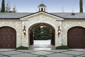 Motor Court Entrance Porte Cochere Dream Home