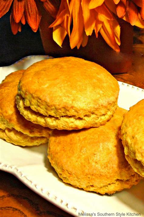 Sweet Potato Biscuits - melissassouthernstylekitchen.com