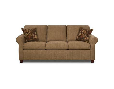 Simmons Tan Collins Queensize Sleeper Sofa