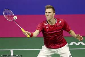 Axelsen beats Chen to meet Lin Dan in world badminton ...