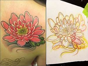 Off The Map Tattoo : Tattoos : Flower Chrysanthemum ...