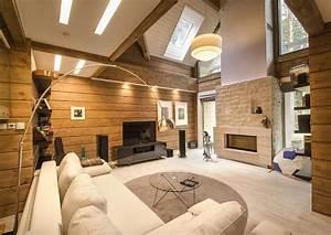 Design D U0026 39 Interieur D U0026 39 Une Maison Bois Moderne Finlandaise