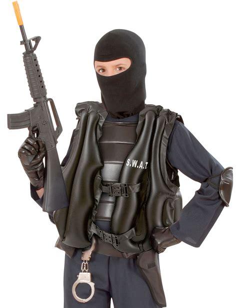 pare enfant gilet pare balles swat gonflable enfant deguise toi achat de accessoires