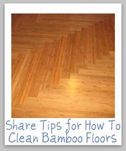 How to clean bamboo floors tips and hints for How do you clean a bamboo floor