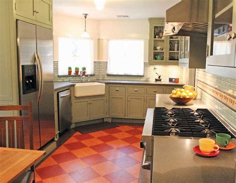 kitchen floor lino the best flooring choices for house kitchens