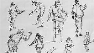 Force Drawing Method For The Human Figures Live Sketching