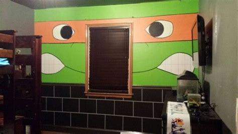 Ninja Turtle Bedroom (accent Wall) #tmnt #diy