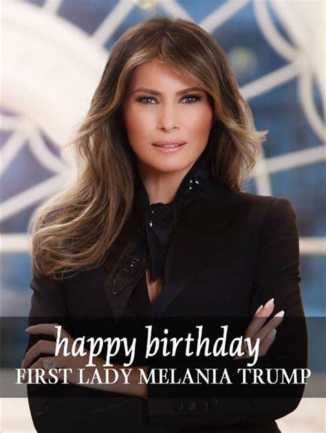 Melania Trump Spent Her Husband's Birthday Away from Her Husband | Vanity Fair