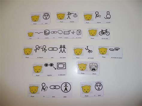 classeur cuisine activité avec les pictogrammes autisme dyspraxie