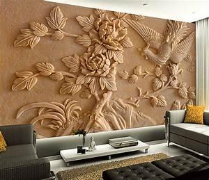custom 3d stereoscopic wallpaper 3d wall murals wallpaper ...