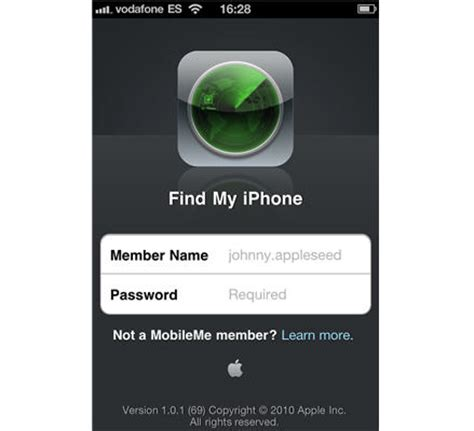 find my iphone website how to locate your stolen iphone with mobileme