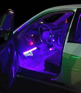 Car Interior Neon Lights