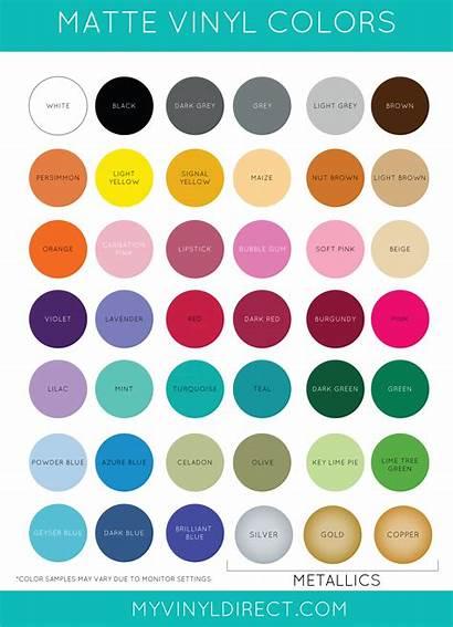 Matte Vinyl Oracal 631 Chart Blanks Monogramming