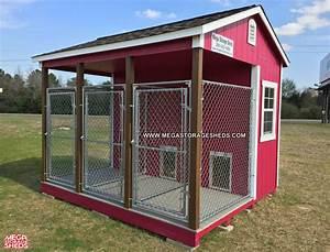 dog kennel mega storage sheds With tuff shed dog kennel