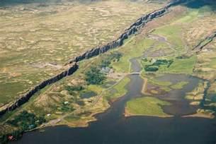 Iceland Thingvellir National Park Map