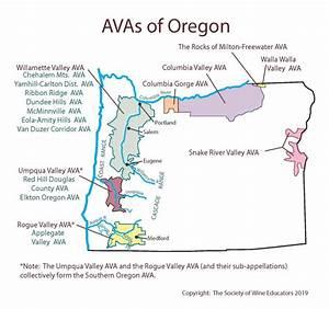 Us  Oregon U2014swe Map 2019  U2013 Wine  Wit  And Wisdom