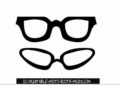 Glasses Booth Props Printable