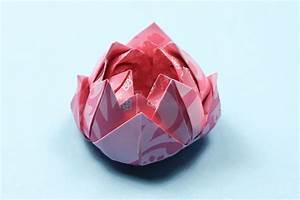 Easy Origami Lotus Instructions