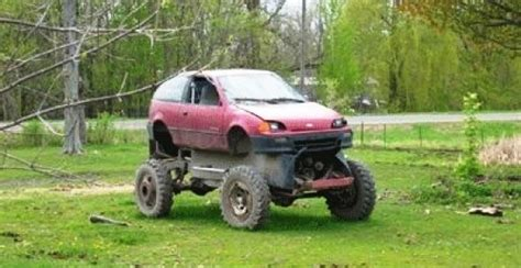 Get ready to go off road in one of these awesome rigs! The Geo Metro Makes a Comeback as...a Bugatti Veyron!?