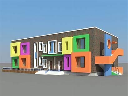 Kindergarten Building Project Children Peak Another Sanctuary