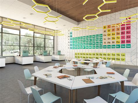 Interior Design Of The Children Educational Center
