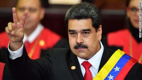 venezuelan president nicolas maduro starts