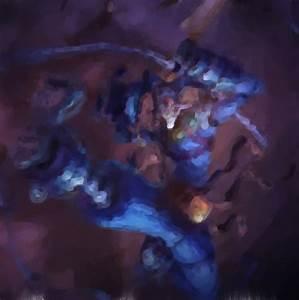 Asylum Shaco - League of Legends Oil Canvas by Lescirosser ...