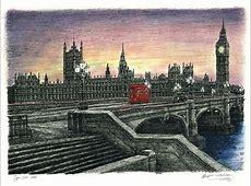 рисунки о лондоне Олимпиада