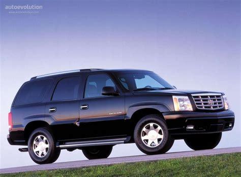 Cadillac Escalade Specs  2000, 2001, 2002, 2003, 2004