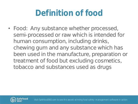 cuisines definition food safety risk analysis part 1