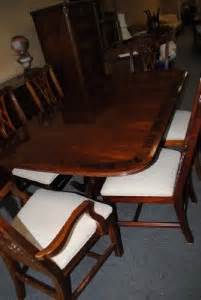 6 foot long dining table beautiful thomasville mahogany formal dining table 6