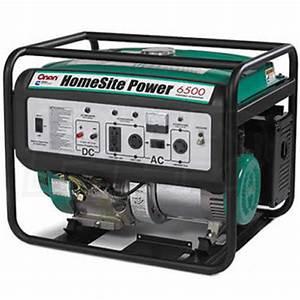 Cummins Onan P6500 5000 Watt Electric Start Homesite Generator