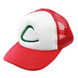 pokemon ash trainer cap