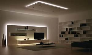 Plafonnier Design Salon : muebles con led informes espacioyconfort arquitectura y decoraci n ~ Teatrodelosmanantiales.com Idées de Décoration