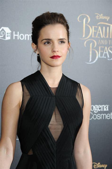 Emma Watson Beauty The Beast Premiere New York