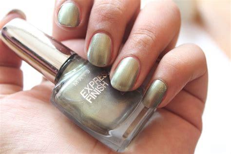 Maybelline Express Finish Nail Polish Khaki Green Photos, Notd